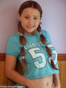 Pigtail Teen Girl