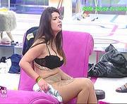 Sofia Sousa sensual no secret Story reencontro
